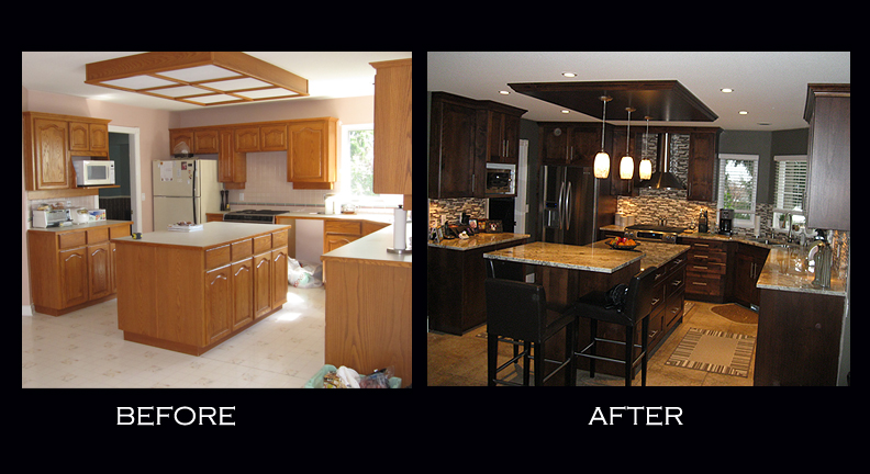 Sumac Kitchen Before After